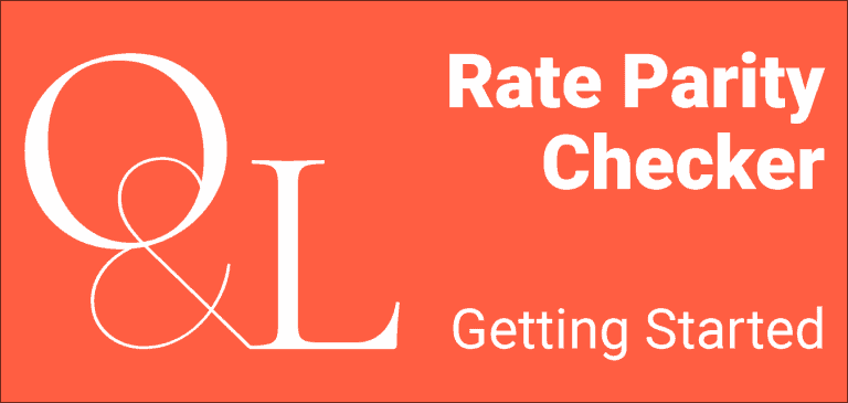 rate parity checker - getting started