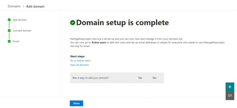 How to add a domain to Microsoft 365 Admin Center